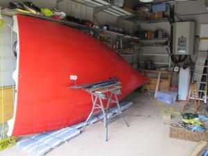 008 dans le garage avant la construction du chariot