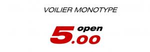 Voilier Monotype Open 500