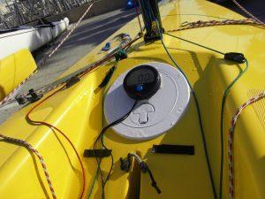 Velocitek Speed Puck sur mon Weta